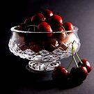 Bowl of Cherries by Dana Roper