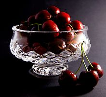 Bowl of Cherries by Dana Roper