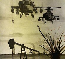 Attack on Oil rig by Kevin Phillips