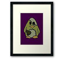 Frankenstein's Penguin Framed Print
