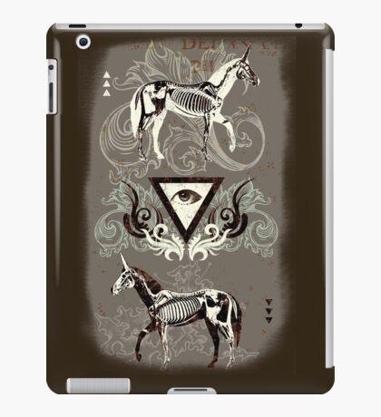 Undead unicorns #2 iPad Case/Skin