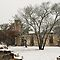 Salado College in Snow - Salado, Texas by Patricia Miller