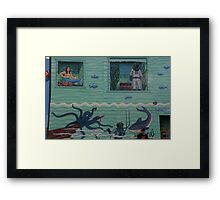 Solve This Three-Part Puzzle: What Is This Mystery Object? Framed Print
