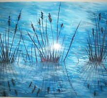 Reedy Reflections by Sally Ford