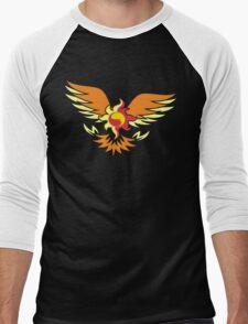 Sunset Shimmer phoenix cutie mark Men's Baseball ¾ T-Shirt