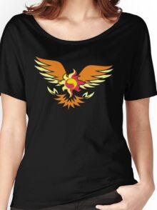 Sunset Shimmer phoenix cutie mark Women's Relaxed Fit T-Shirt
