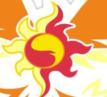 Sunset Shimmer phoenix cutie mark Sticker