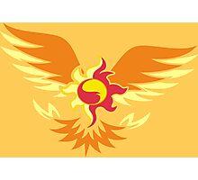 Sunset Shimmer phoenix cutie mark Photographic Print