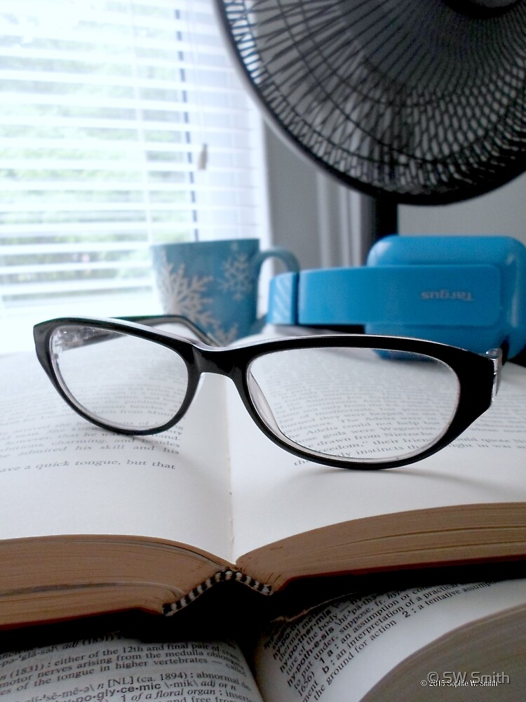 Books & Glasses  by © Sophie W. Smith