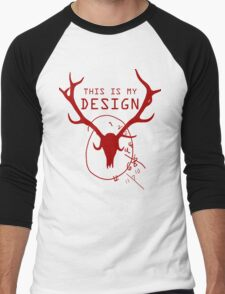This Is My Design Men's Baseball ¾ T-Shirt