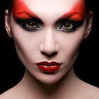 Devilish makeup by Alex Lim