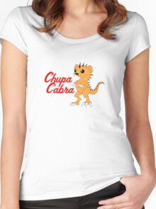 Chupacabra (without background) Women's Fitted Scoop T-Shirt