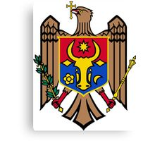 Coat of Arms of Moldova Canvas Print