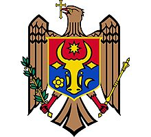 Coat of Arms of Moldova Photographic Print