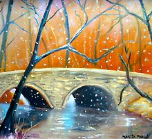 Wissahickon Winter by Marita McVeigh
