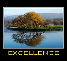 Excellence Inspirational Art by Christina Rollo