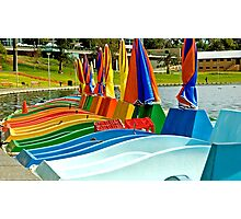 Paddle Boats Photographic Print