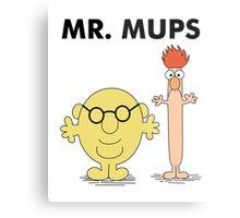 Mr. Mups Metal Print