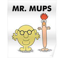 Mr. Mups Poster