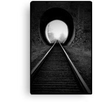 Train Tracks  Canvas Print