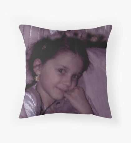 Juliana series. Throw Pillow