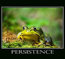 Persistence Inspirational Art by Christina Rollo