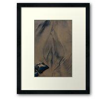 Gaia's Torch Framed Print