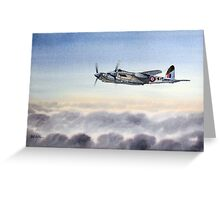 Mosquito Aircraft Greeting Card