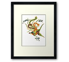 Asian Art Chinese Phoenix Framed Print
