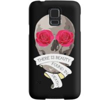 There is Beauty found in Death Samsung Galaxy Case/Skin