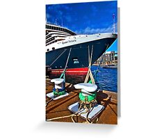 The Queen Vic - SYDNEY - Australia Greeting Card