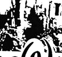 hogwarts castle as disney castle Sticker