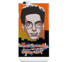 What would Egon do? iPhone Case/Skin