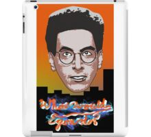 What would Egon do? iPad Case/Skin