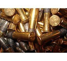 Live Ammo Photographic Print