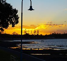 Wynnum Sunset 2 by Wayne  Nixon  (W E NIXON PHOTOGRAPHY)