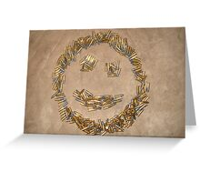 Ammo Smiley Greeting Card