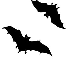 Black bats by artefaktura