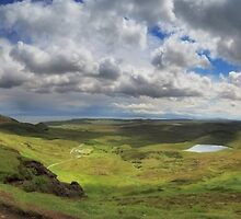 Quiraing and Trotternish - Panorama by Maria Gaellman