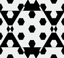 Hexagonal Pattern Theme 05 by Keith Richardson