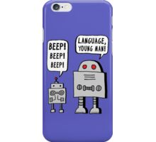 Beeping Robot iPhone Case/Skin