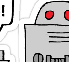 Beeping Robot Sticker