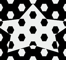 Hexagonal Pattern Theme 11 by Keith Richardson