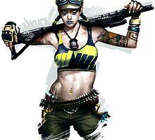 APB Reloaded Cool Enforcer Girl 2 by FelixxGhost