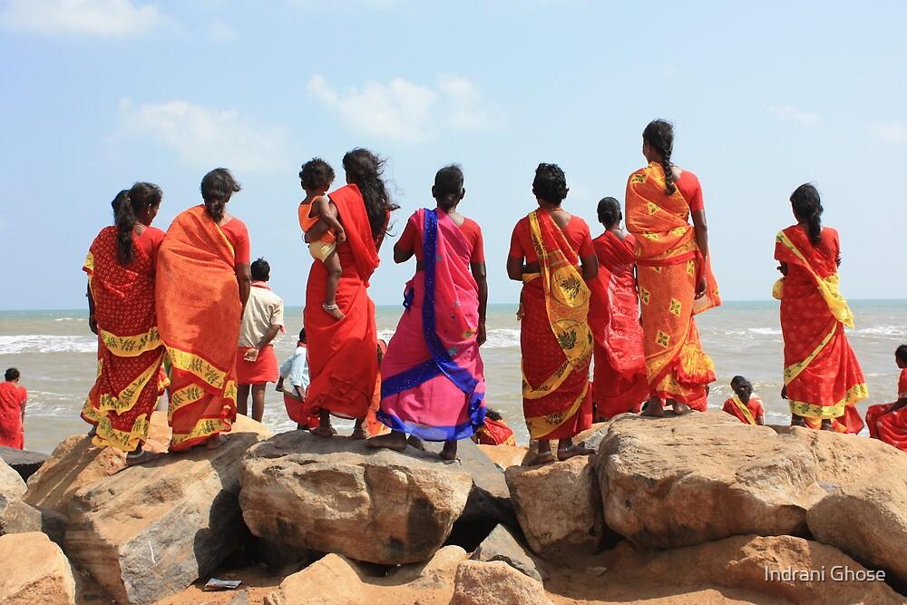 At Poompuhar, Tamil Nadu by Indrani Ghose