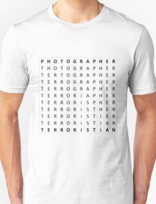 Tertographer Unisex T-Shirt
