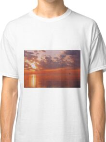 Red Sky Morning Classic T-Shirt