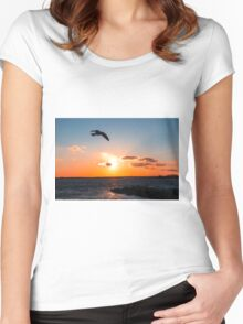 Relaxation Therapy Women's Fitted Scoop T-Shirt