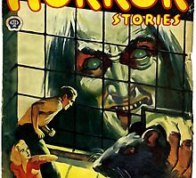 Horror Stories - Classic Pulp Fiction Cover  by verypeculiar