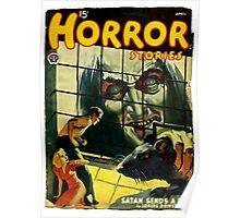 Horror Stories - Classic Pulp Fiction Cover  Poster